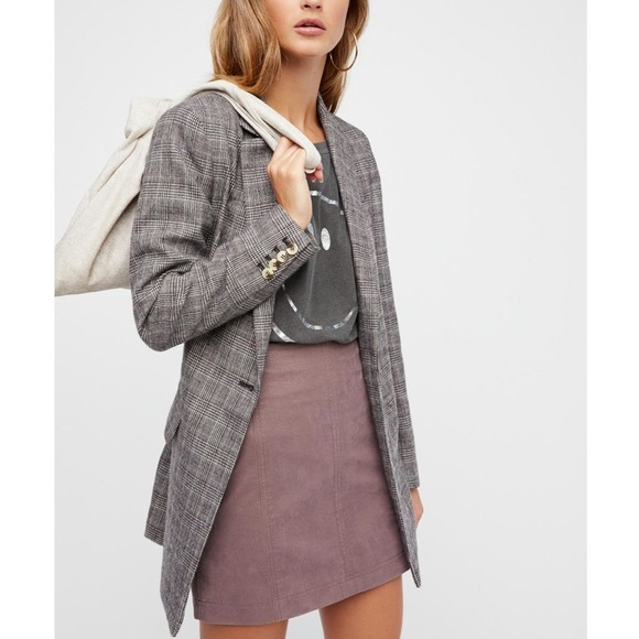 Free People Dresses & Skirts - Free People Modern Femme Vegan Leather Skirt